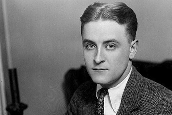 Photograph of F. Scott Fitzgerald c. 1921, appearing