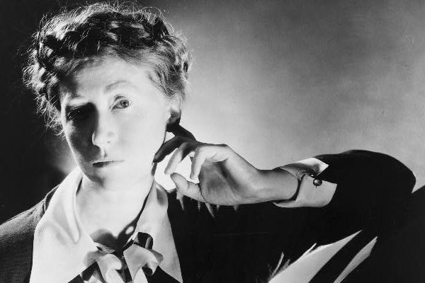 American poet and writer Marianne Moore photographed by George Platt Lynes 1935